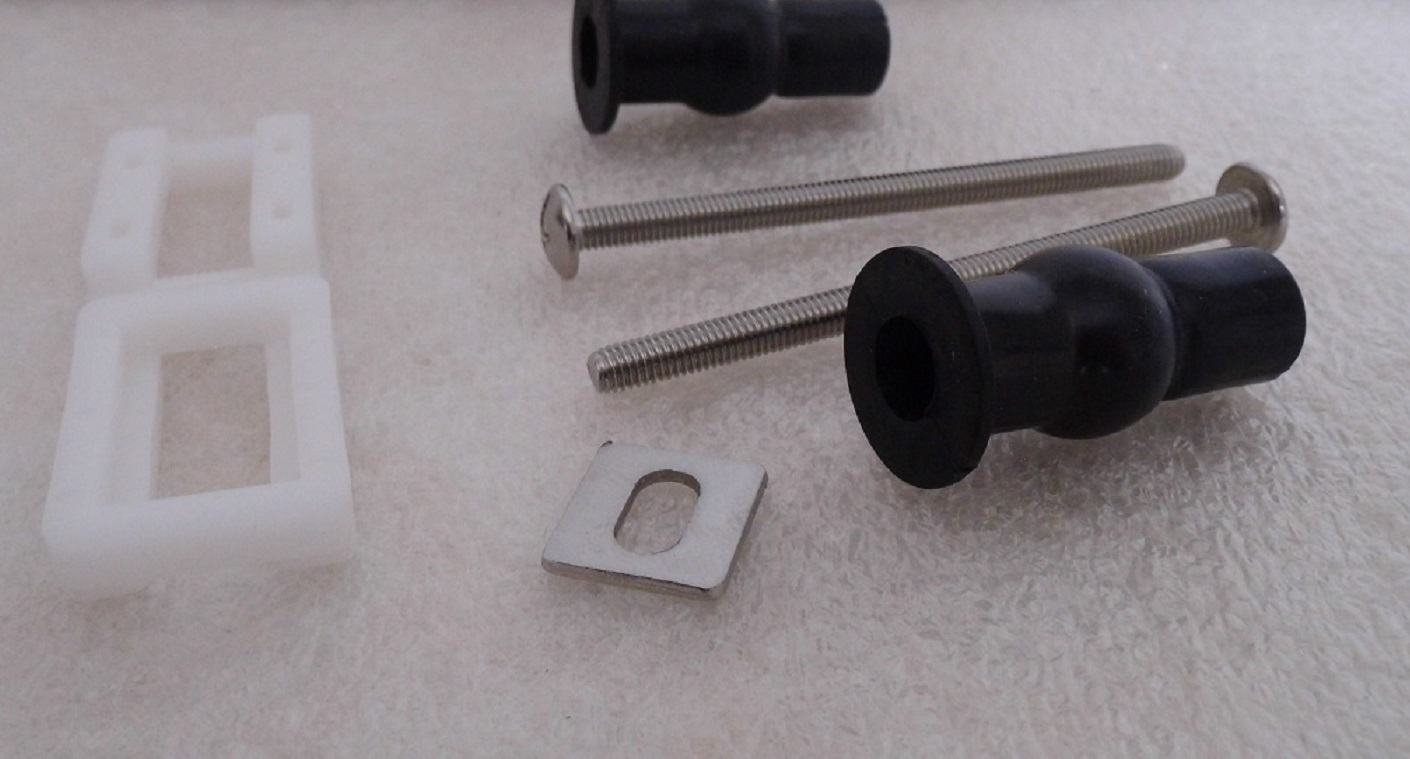Expanding Toilet Bolt Fasteners Mounting Seat Anchor